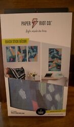 Paper Riot Co. Quick Stick Home Decor Removable Decals Abstract Inspiration NI