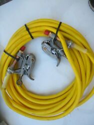 New 50and039 Altec Lineman Electric High Voltage Grounding Cable Jumper