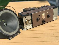 A Restored 1929 Atwater Kent Model 60 Radio Chassis - See The Video