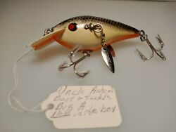 Rare Vintage Fishing Lure - Uncle Asherand039s Big-a In The Box
