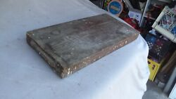Antique Primitive Wooden Key Cabinet From Maine