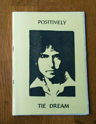 Rare Limited Edition Of 300 Bob Dylan Book Positively Tie Dream Tom Petty Waits