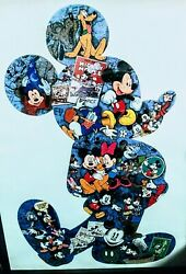 Framed Vintage Mickey Mouse Puzzle