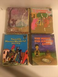 Arch Childrenandrsquos Bible Stories Lot Of 51 Books All Made In The 60andrsquos And 70andrsquos