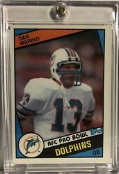 Dan Marino 1984 Topps Rookie Card Miami Dolphins 🐬 🔥 🏈 123 Auction 2