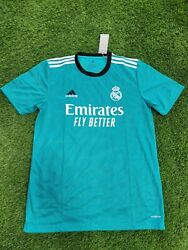 Adidas Real Madrid 3rd Menand039s Soccer Jersey- 2021/22
