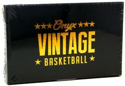 2021/22 Onyx Vintage Collection Basketball 24 Box Case Blowout Cards