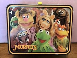 1979 Metal Muppets Lunch Box - With Thermos