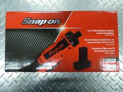 Snap-on Ctss761w1 14.4v Microlithium Cordless In-line Screwdriver W/battery