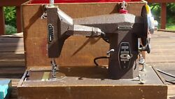Antique 1947 Kenmore Sewing Machine. Portable Electric