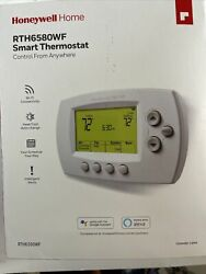 Honeywell 7-day Programmable Smart Thermostat Rth6580wf Wi-fi Control Anywhere