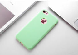 Candy Color Soft Silicone Cute Case Cover For Iphone 6 7 8 Plus 5 Se Xs Max Xr X