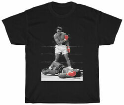 Muhammad Ali The Greatest Boxer Vintage T Shirt Funny Cotton Tee Gift Men