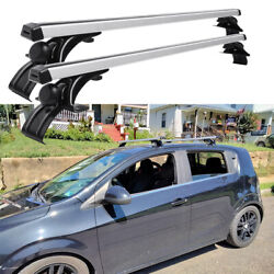 For Chevy Sonic 48 Car Top Roof Rack Cross Bar Cargo Bicycle Luggage Carrier Dm