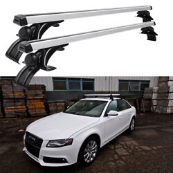 For Audi B8 A4 S4 48 Car Top Roof Rack Cross Bar Cargo Bicycle Luggage Carrier
