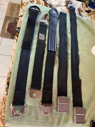 Vintage Fomoco, 1964 Ford Seat Belts Falcon, Mustang, Galaxie Oem Black
