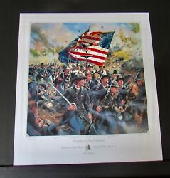 Don Troiani - The Eagle Of The 8th - Collectible Civil War Print - Mint