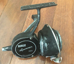 Vintage Zebco Spinner 777 Fishing Spinning Reel-made In Usa-works Well-see Pics
