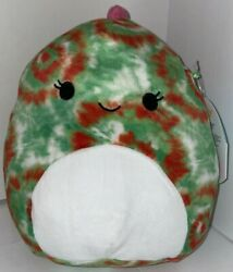 Squishmallow Winifred The Tie Dye Chameleon 8quot; NWT Plush