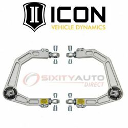 Icon Front Upper Suspension Control Arm Kit For 2008-2019 Toyota Land Fe