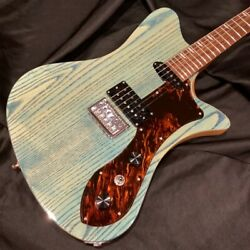 Ryoga Skater-mh3/2021 Blue Stain /blue Electric Guitar Pepe