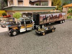 1/64 Scale Dcp Kenworth W900a Smokey And The Bandit Truck Snowmanand039s Rig Custom