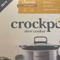 Crockpot 2qt Slow Cooker Brand New In Box NEVER USED Free Shipping