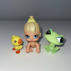 Bratz Lil Angelz Baby Little Angels Collector Cloe Doll Green Bow Frog Duck Rare