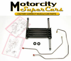 69-70-71-72 442 W-30 Cutlass W-31 Factory Auxiliary Transmission Cooler W/ Lines
