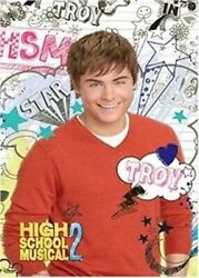 High School Musical 2 Troy Yearbook Poster Zac Efron