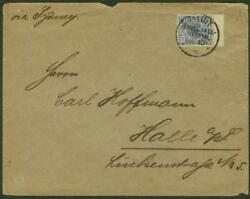 German Marshall Is. 1898 Commercial Cover/jaluit 20pf