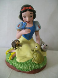 Disney Snow White With Her Animals Musical Box D438