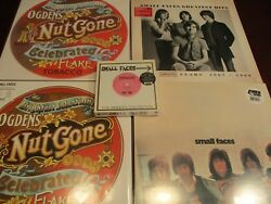 Small Faces Ogden's Nut Gone Flake Rare Colored Red Vinyl And Mono Set + Bonuses