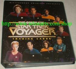 Complete Star Trek Voyager Master Set 275 Cards All Sketchafex And Autograph Cards