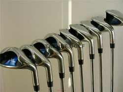 +2 Big Left Handed Wide Sole Tall Lh Iron Set Golf Club