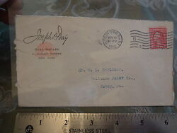 1912 Real Estate Hudson Terminal Sta Ny New York Stamp Cover