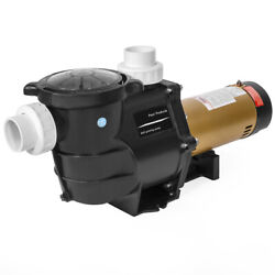 2hp In-ground / Above Ground Swimming Pool Pump Variable 2-speed Slip-on Fitting