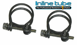 64-65-66-67-68-69-70 442 W-30 W-31 Double Wire Hose Clamps For Heater Hoses