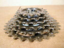 New-old-stock Suntour Alpha 6-speed Freewheel 14x28...indexing Compatible