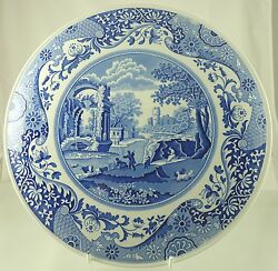 Italian Raised Cake Plate 11 5/8 Blue Room Collection By Spode