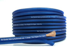 Knukonceptz Kord Speaker Wire Ultra Flex Blue Ofc 12 Gauge Cable 100and039