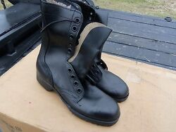 9 Pairs..size 5.5 N Narrow Military Leather Combat Boots Military Surplus