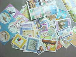100 Different Kuwait Stamp Collection - Lot