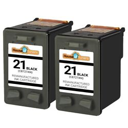 Black for HP 21 Ink Cartridges for HP21 C9351AN Cartridge 2PK $15.50