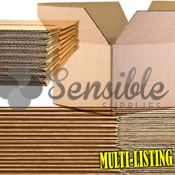 Quality Single And Double Wall Cardboard Boxes Postal Mailing Pack Fast And Free P+p