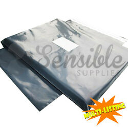 Strong Mailing Postage Bags Quality Grey Plastic Poly Self Seal Fast And Free P+p