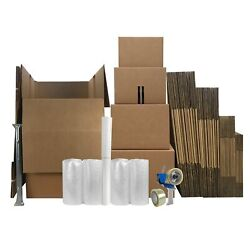 Uboxes 4 Room Wardrobe Kit 43 Packing Boxes And Packing Supplies