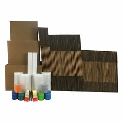 Uboxes 7 Room Bigger Boxes Kit 90 Boxes Plus 188 In Packing Supplies