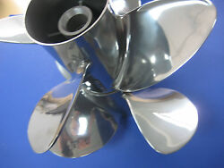 Signature Bravo Iii 4 By 4 Propellers Stainless By Hill Marine 16 P