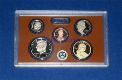 2013 S Partial Proof Set- Five Coins-sacagawea Kennedy Dime Nickel Cent